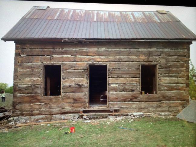 Tweed log house.